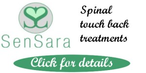 back massage spinal touch cornwall